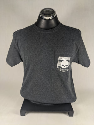 GHOST FACE HARLEY-DAVIDSON POCKET TEE
