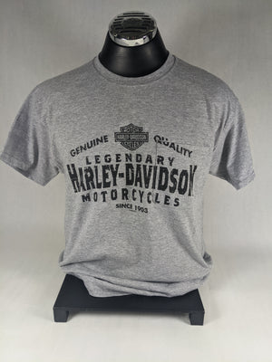 POST CREDITS HARLEY-DAVIDSON POCKET TEE