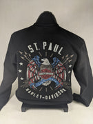 ST. PAUL HARLEY-DAVIDSON BLACK SWEATSHIRT
