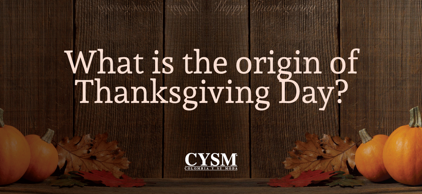 What is the origin of Thanksgiving Day? by CYSM