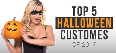 TOP 5 halloween customes 2017