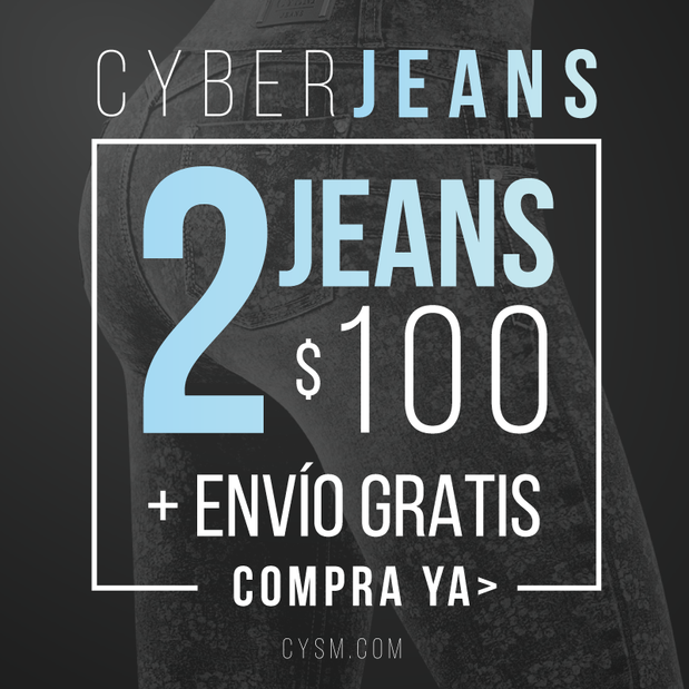 CYBER JEANS the cysm's cyber monday