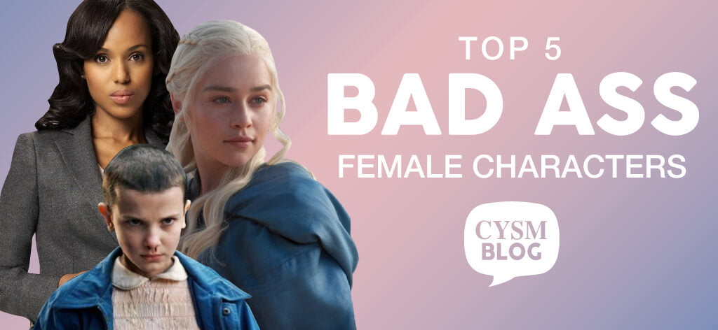 top 5 bad ass female characters