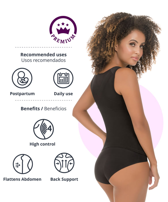 287 - High-Control Camisole with Back Support