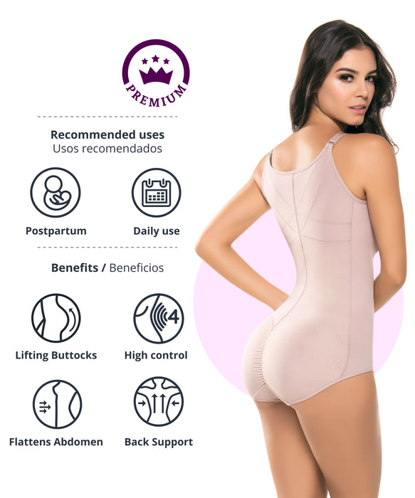 434 - High Control Posture Corrector Body Shaper