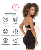 1504 - Abdomen Contouring Seamless Thermal Shorts