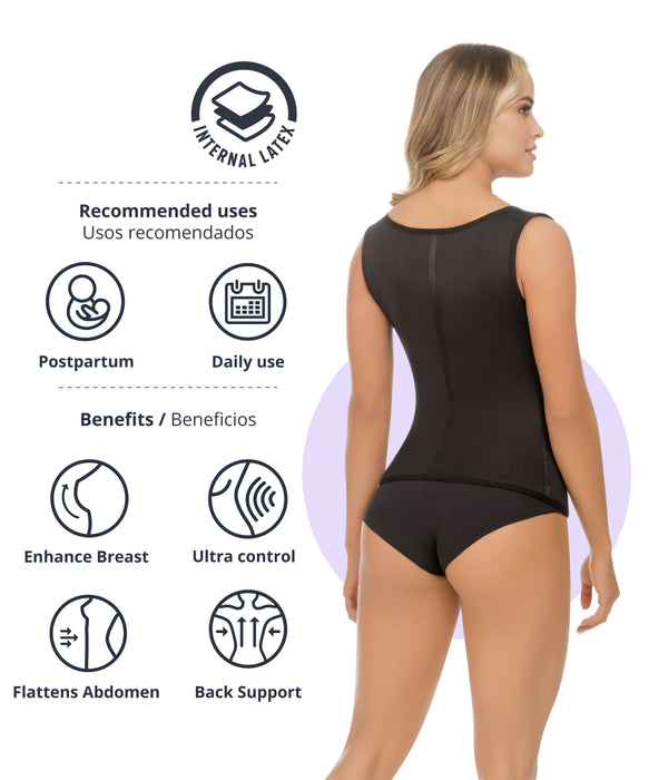 1334 - Full Control Body Shaper Vest