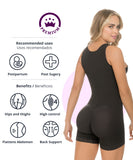 436 - Tummy Control Body Shaper in Boyshort
