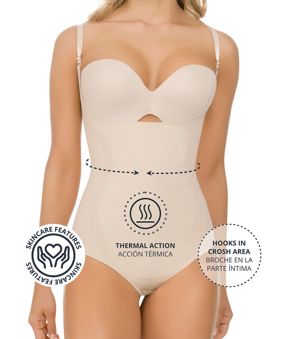 1577 / 1578 - Seamless Thermal Abdomen Focused Body Shaper