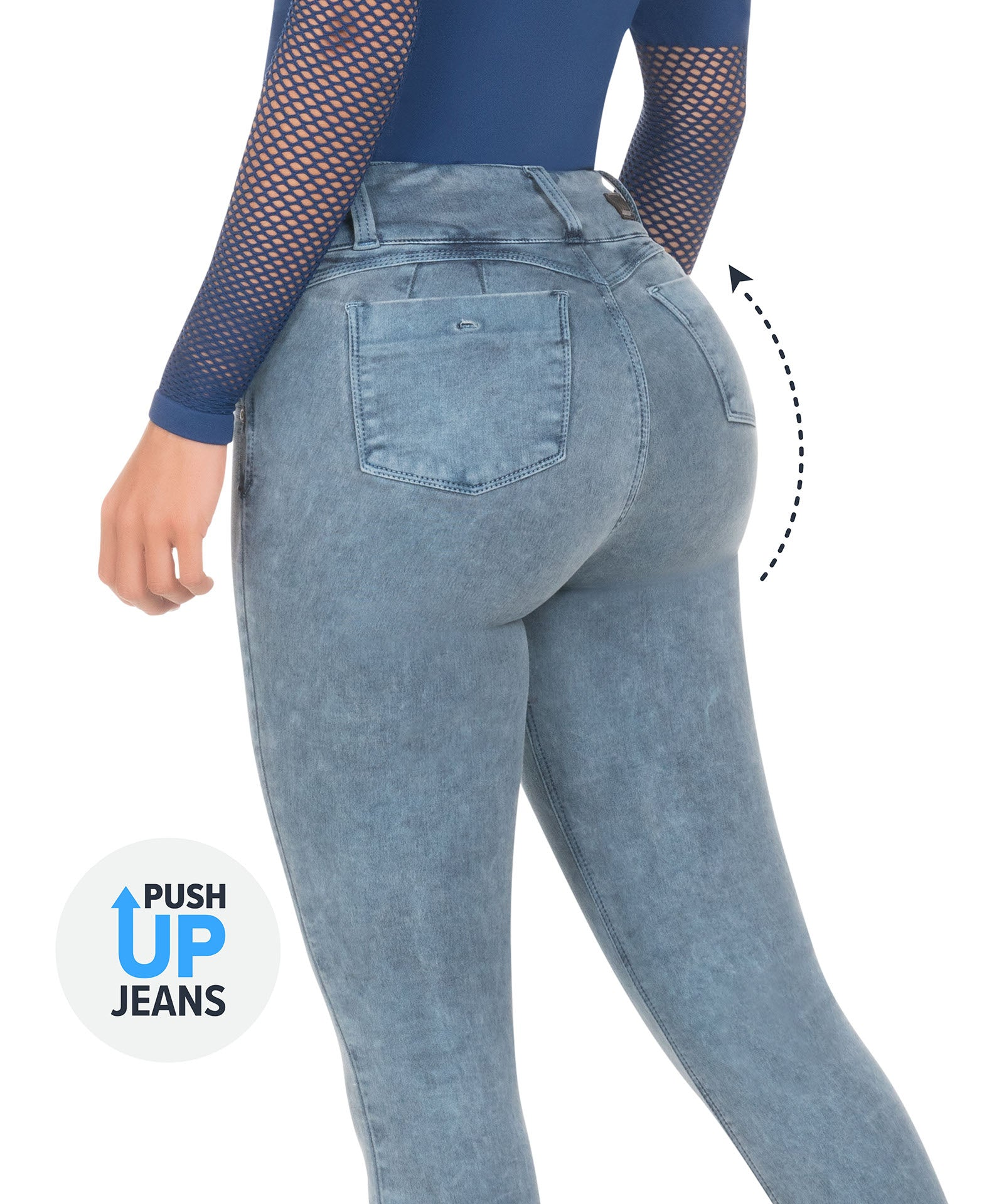 2028 - Push Up Jean by CYSM