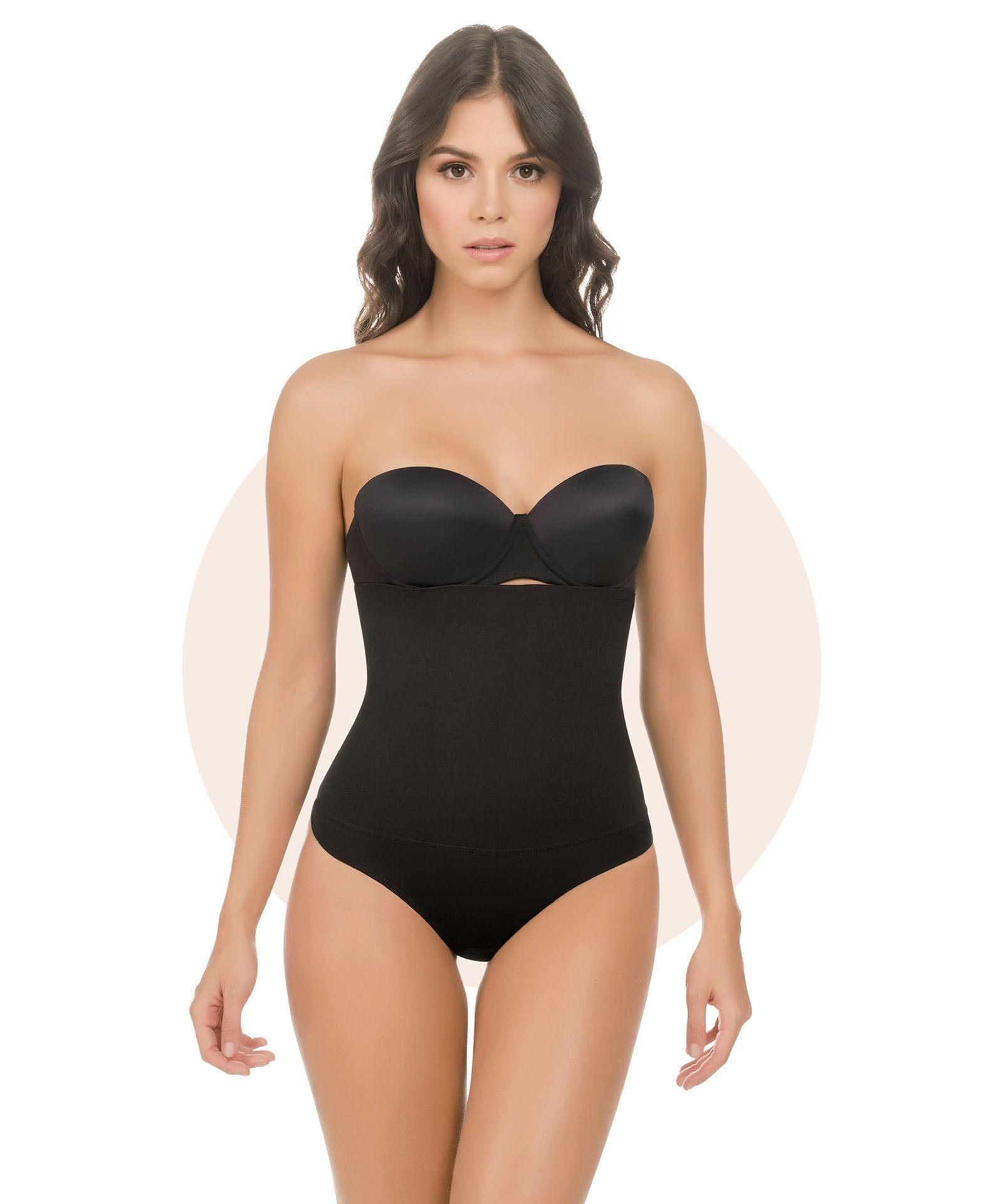 1560 - Strapless Ultra Compression Body Shaper