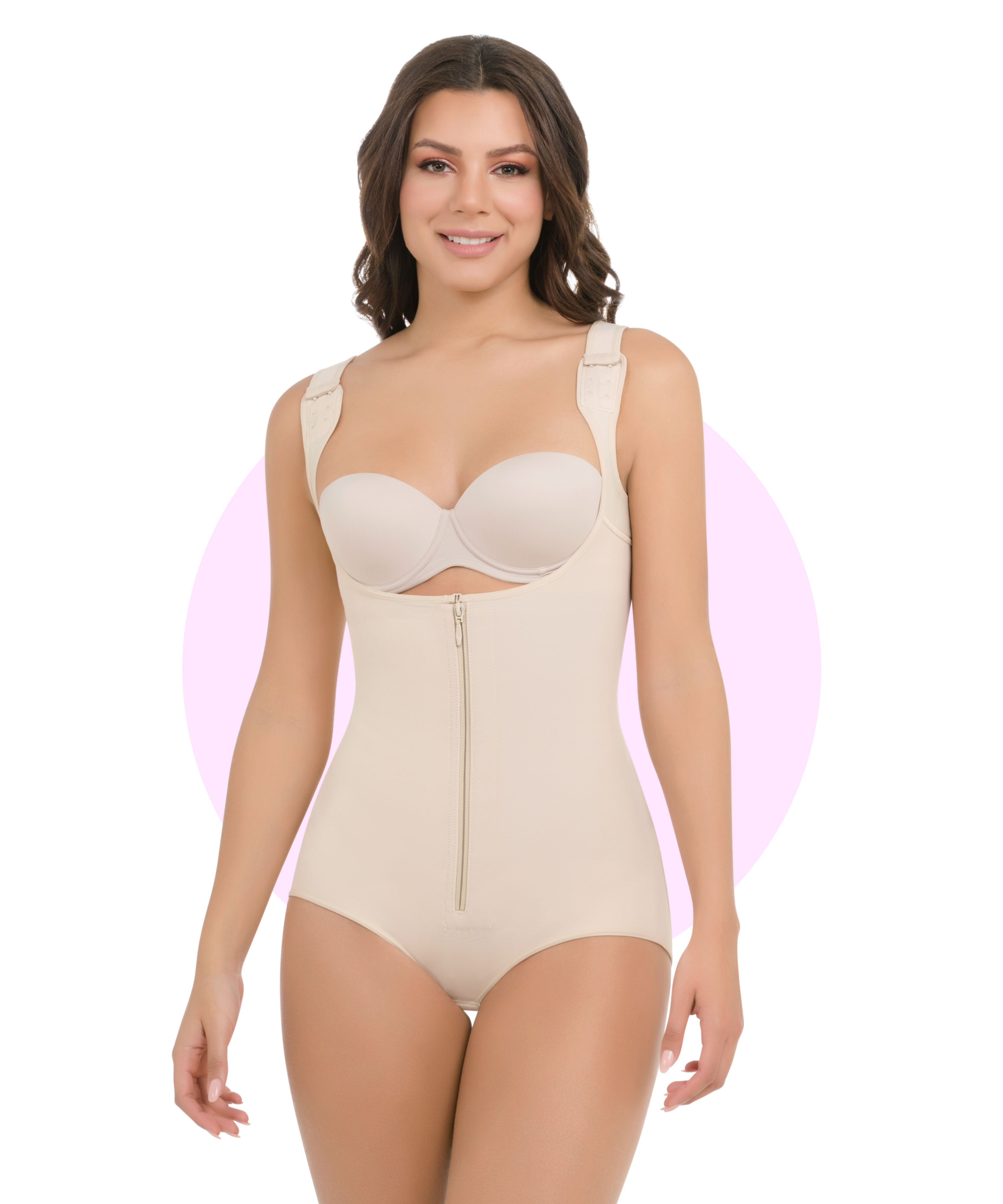 385 - Thermal Body Shaper With Wide Straps