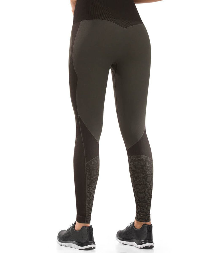 931 - Ultra Compression and Abdomen Control Fit Legging Olive