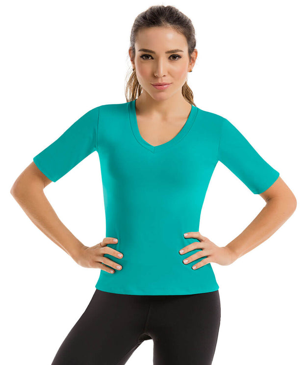 Basic Color Fit Blouse - Fit by CYSM