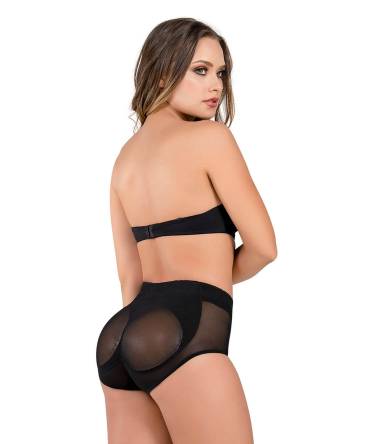 3 - Butt-Enhancing Padded Panty with Silicone Pads