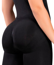 1581 - Seamless  Instant Remodeling Slimming Thermal Bodysuit