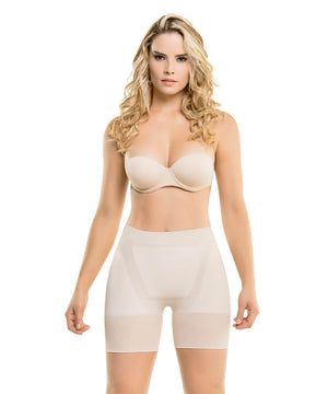 CYSM - Colombia y su Moda 1502 - Seamless Instant Definition Butt-Lifting Thermal Shorts [product_vendor ]  Seamless, CYSM, Fajas Premium, Shapewear, Body Shaper