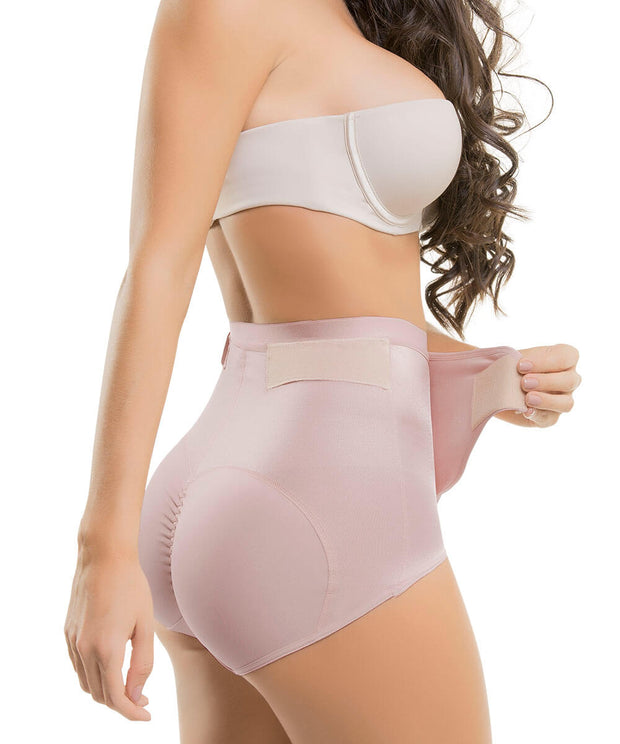 610 - Adjustable Tummy Control Ultra Flex Compressive Panty