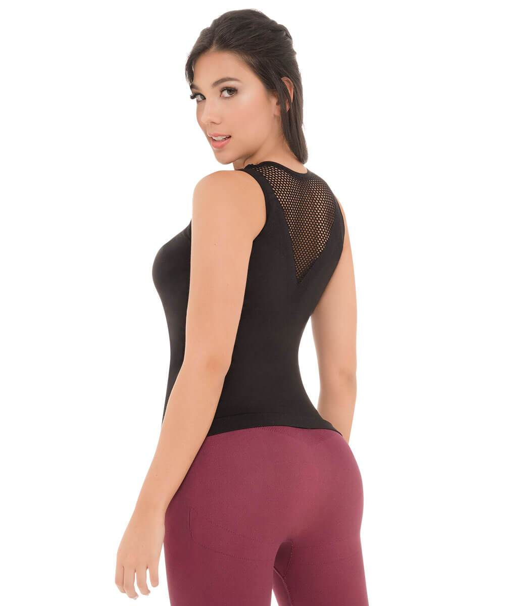 996 - Back-Support Mesh Fit Camisole