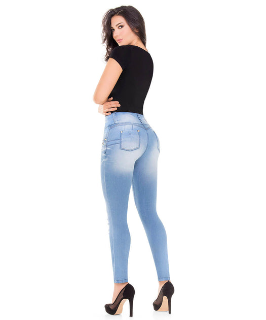 e1dab187afe0 Amazon.com   JEAN PITBULL JEANS COLOMBIANO - PUSH UP JEANS Ref 50044 (8 COL  3 4 USA)   Sports   Outdoors. Dress Made in Colombia K577 Dress ...