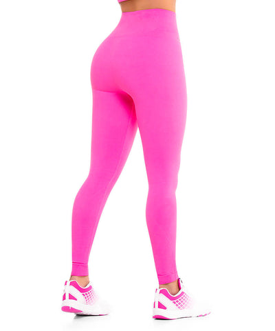 901 - Ultra Compression and Abdomen Control Fit Legging Fuchsia
