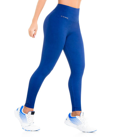 901 - Ultra Compression and Abdomen Control Fit Legging Navy Blue