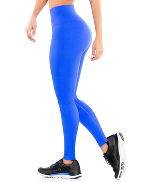 901 - Ultra Compression and Abdomen Control Fit Legging Royal Blue