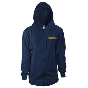 Boston Logo Women's Zip-Up Hoodie-Boston