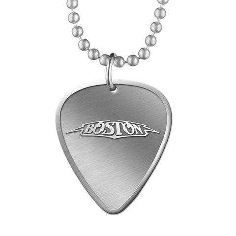 Guitar Pick Necklace-Boston