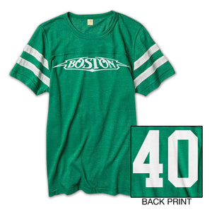 40th Anniversary Football Jersery Tee-Boston