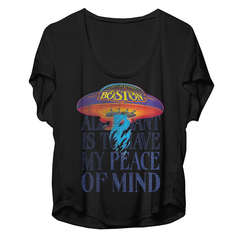 Peace of Mind Dolman Tee-Boston