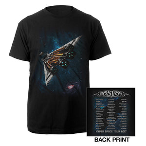 The Third Stage Itinerary Tee-Boston