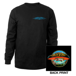 Boston Album Cover Long Sleeve T-Shirt-Boston
