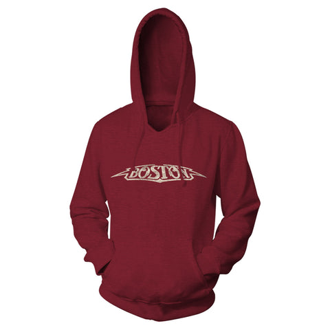 Boston Vintage Logo Hooded Sweatshirt-Boston