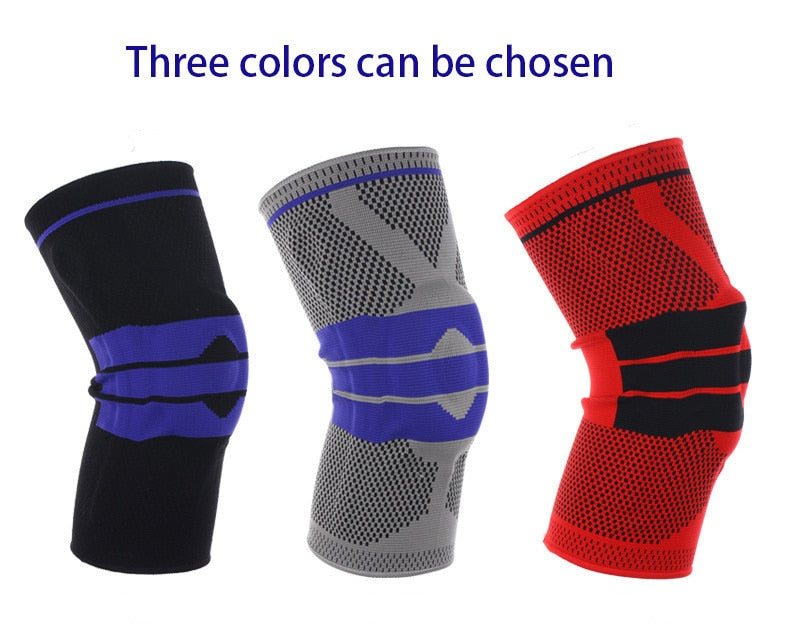 Nylon Silicon Knee Protection