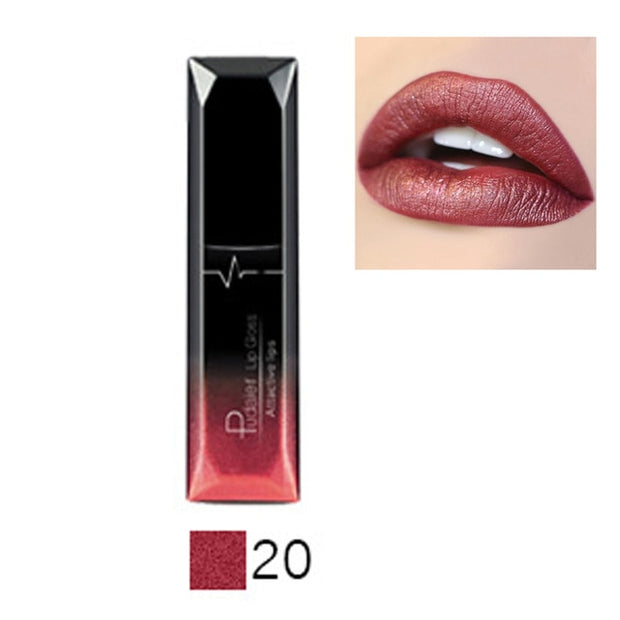 Lip Makeup Sexy Long Lasting Waterproof Lip Gloss Matte Nude Liquid Lipstick