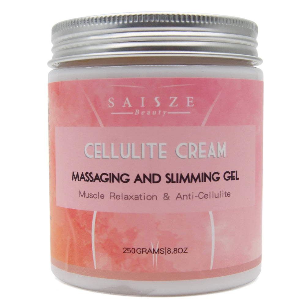 Cellulite Hot Cream Tight Muscles-Soothes Leg Relaxes Adipose Massage and Tightens Skin Weight Burning Loss