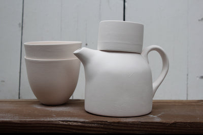 Decorate Your Own Tea Set from Home