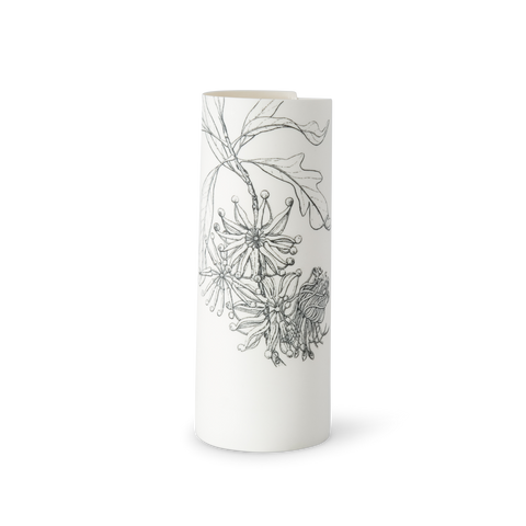 Illuminator Vase Tall Black Firewheel