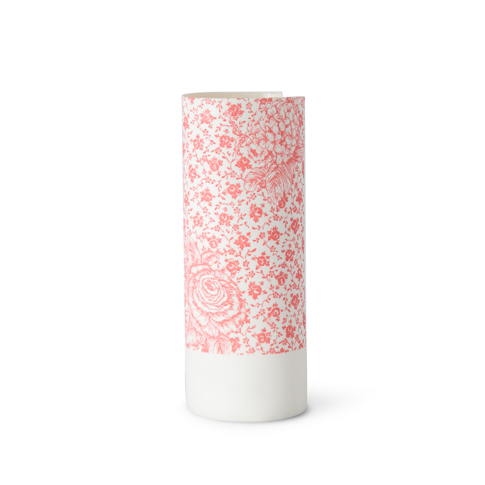 Illuminator Vase Tall Big Rose Small Rose