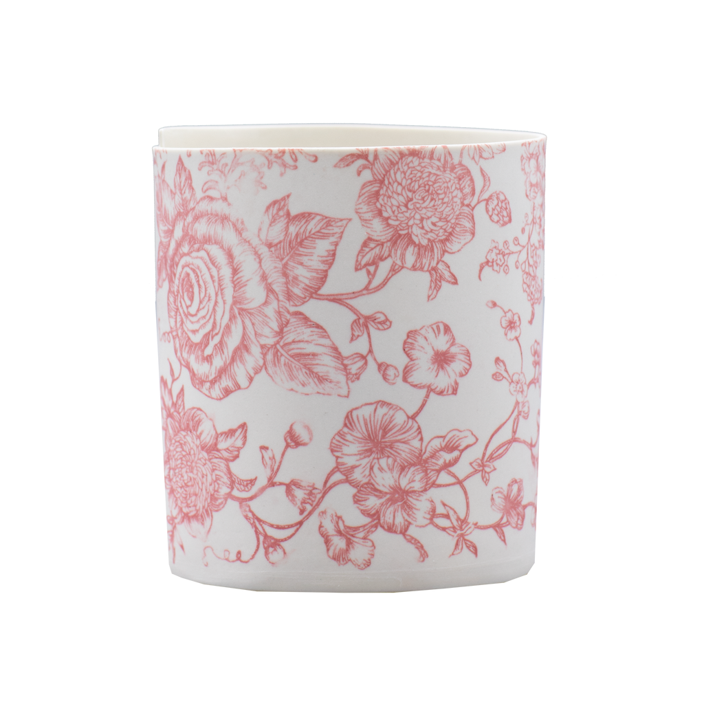 Illuminator Vase Short Rose Tattoo