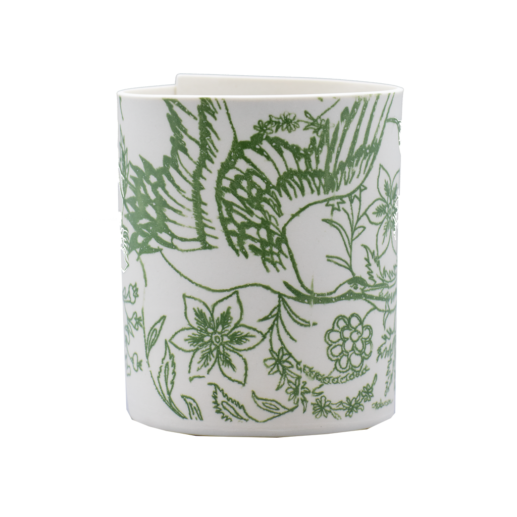 Illuminator Vase Short Sam-bird