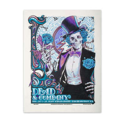 2019 Chase Center San Francisco Exclusive Event Poster-Dead & Company