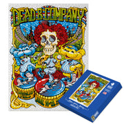 Steal Your Puzzle Series 1 Limited Edition Dead & Company Event 1000 Piece Jigsaw Puzzle-Dead & Company