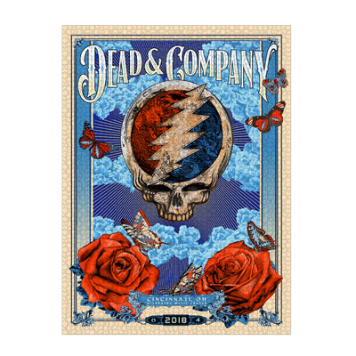 Steal Your Puzzle Series 2 Limited Edition Dead & Company Event 1000 Piece Jigsaw Puzzle