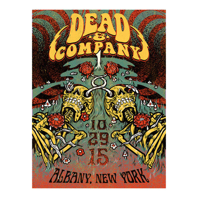 Albany, New York Exclusive Event Poster-Dead & Company