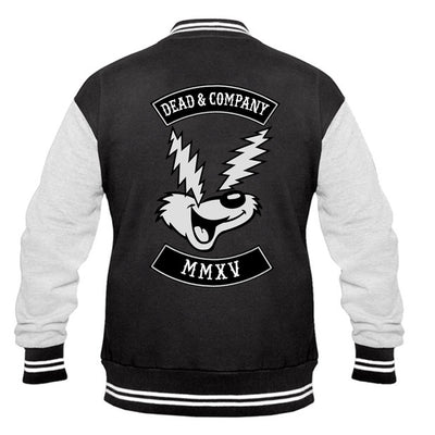 Electric Eyes Dead & Company Varsity Jacket-Dead & Company