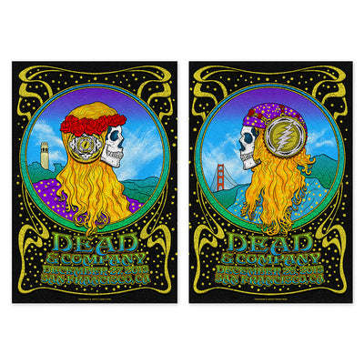 San Francisco, CA Combined Exclusive Tour Poster-Dead & Company