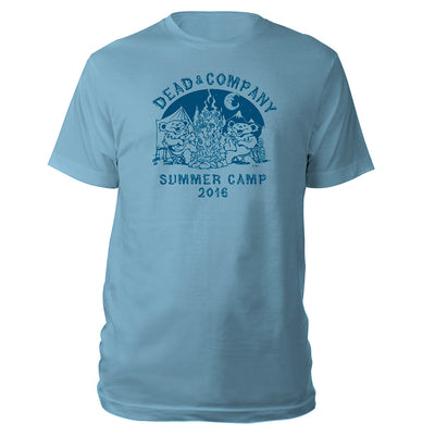 Youth Summer Camp Light Blue Tee-Dead & Company
