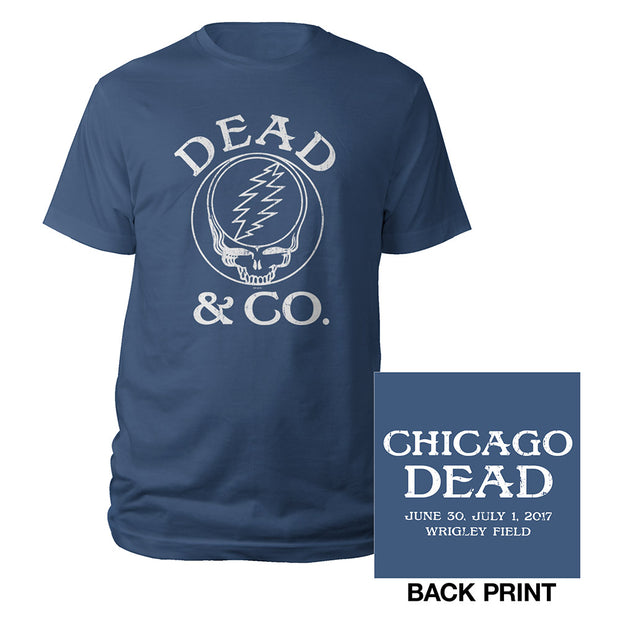 Wrigley Field, Chicago, IL Event Tee-Dead & Company